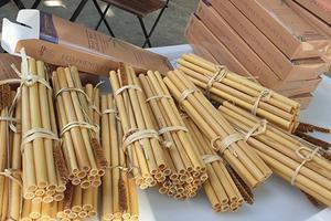 32 tuổi, chàng trai Nghệ An kiếm hơn 60 tỉ một năm nhờ làm ra ống hút tre