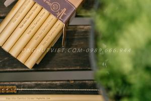 Sản phẩm ống hút tự nhiên thuần Việt