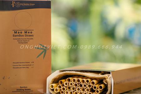 Ống hút tre tại Hà Nội